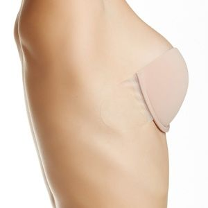 Nordstrom DD Cup Strapless Backless Stick On Bra